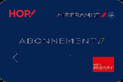 Déplacements pros : offre carte d'abonnement Air France